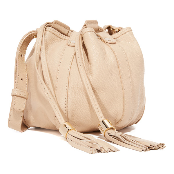 SEE BY CHLOE Vicki mini bucket bag - A miniature See by Chloé bucket bag with an exposed double