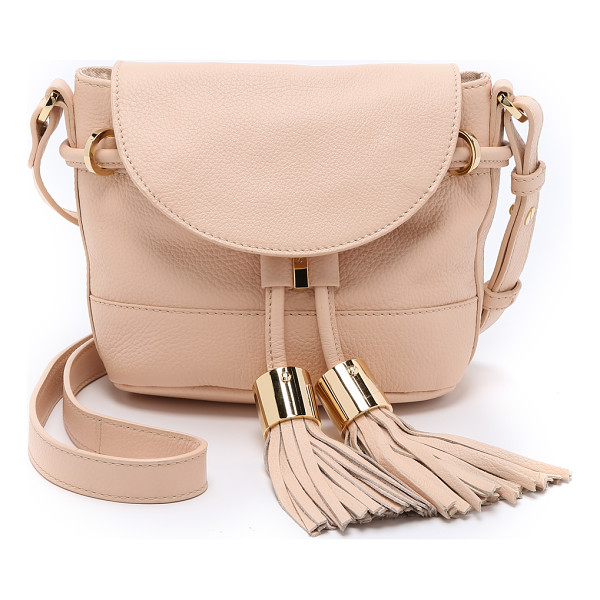 SEE BY CHLOE Vicki mini cross body bag - A petite See by Chloé cross body bag in pebbled leather.