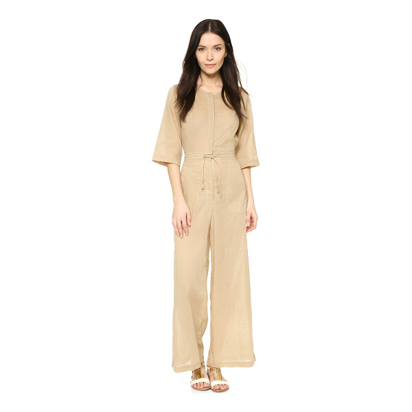 SHAKUHACHI Safari wide leg jumpsuit - Description NOTE: Sizes listed are Australian. Please see...