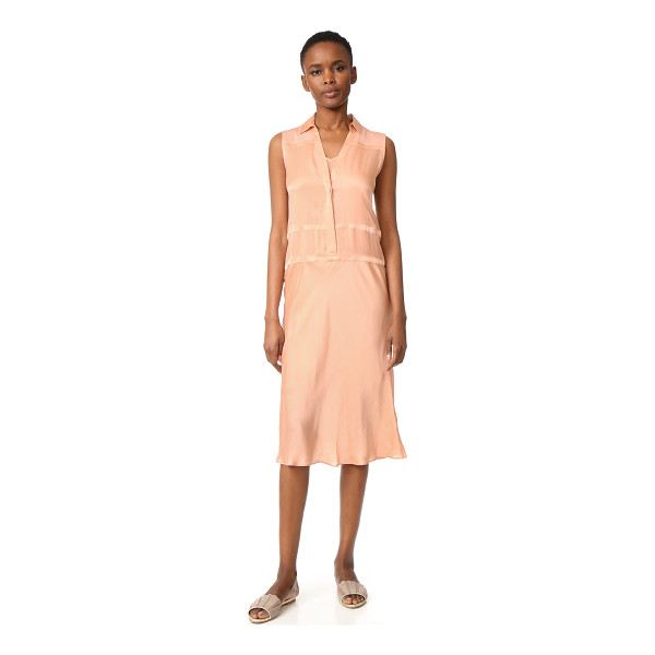 SKIN aria dress - A sleeveless dress rendered in delicate silk charmeuse with...