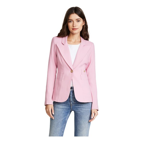 SMYTHE duchess blazer - Gold-tone buttons close the single-breasted placket and...