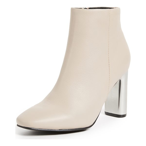 SOL SANA alicia booties - Modern Sol Sana booties with smooth leather uppers and...
