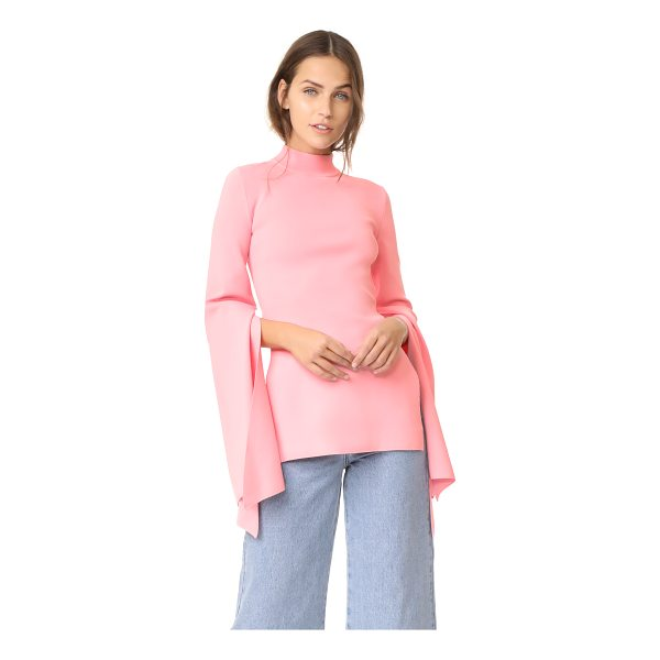 SOLACE LONDON adelia knit top - This fitted, double-knit Solace London top is styled with a...