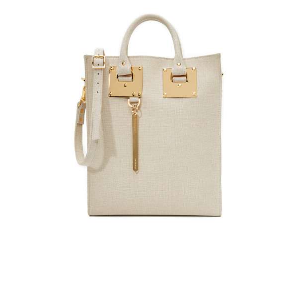 SOPHIE HULME Canvas mini tote bag - A classic Sophie Hulme tote, updated in canvas. Unlined, 1