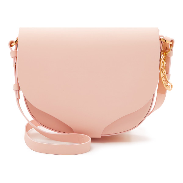 SOPHIE HULME Medium saddle bag - A modern Sophie Hulme saddle bag crafted in matte leather