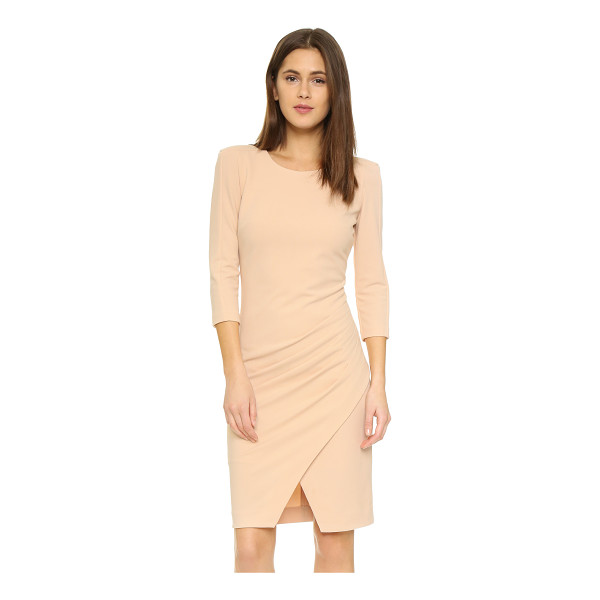 ST OLCAY GULSEN Structured dress - Asymmetrical shutter pleats lend texture to the crossover...