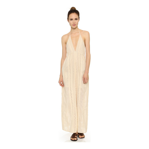 ST. ROCHE Juniper maxi dress - Pintucks and eyelet detailing lend a sweet feel to this...