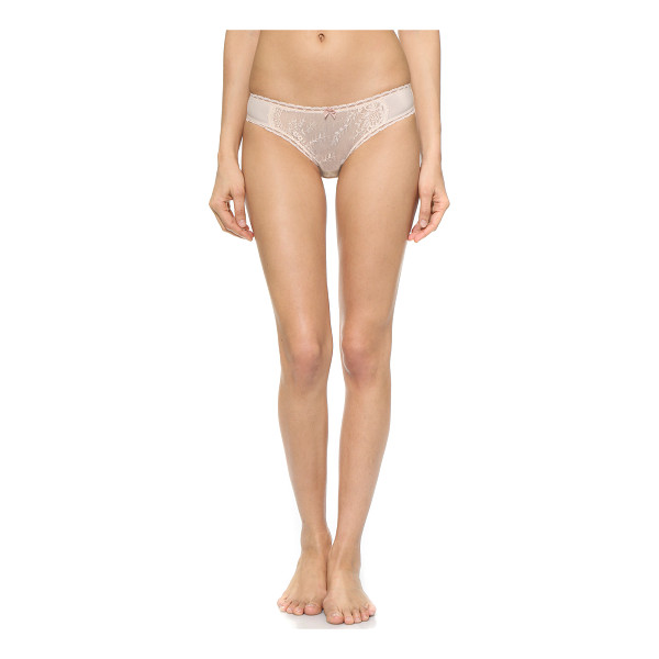 STELLA MCCARTNEY Reilley adoring bikini - Delicate floral lace and slinky, featherweight jersey...