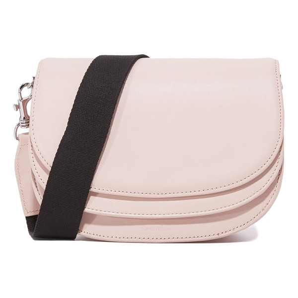 STEVEN ALAN landon saddle bag - A structured Steven Alan saddle bag styled with layered...
