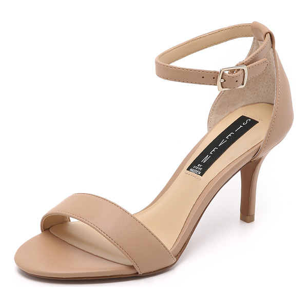 STEVEN vienna sandals - Steven sandals made from faux leather. Buckle ankle strap.