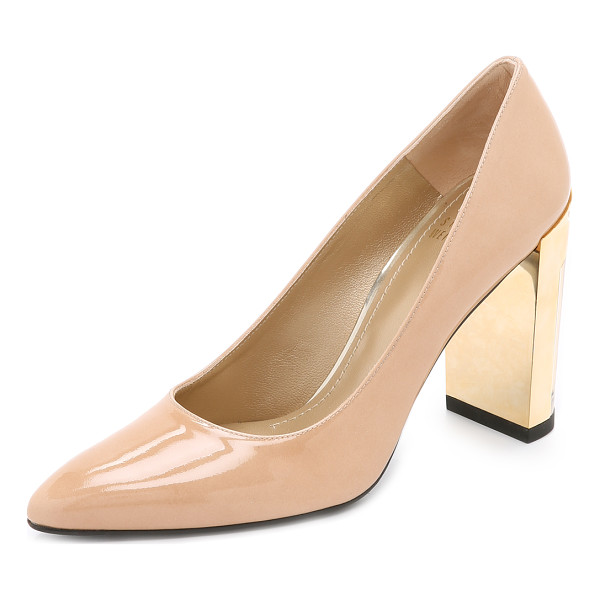 STUART WEITZMAN Icicle pumps - These patent leather Stuart Weitzman pumps offer a bold