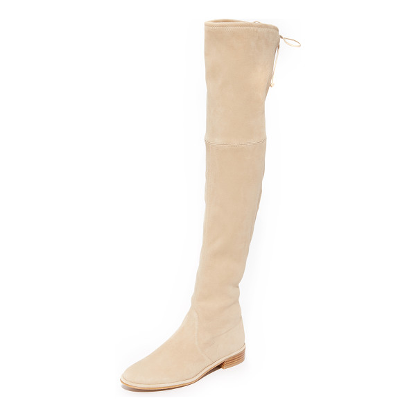 STUART WEITZMAN Lowland Over The Knee Boots - These over the knee Stuart Weitzman boots are crafted in...