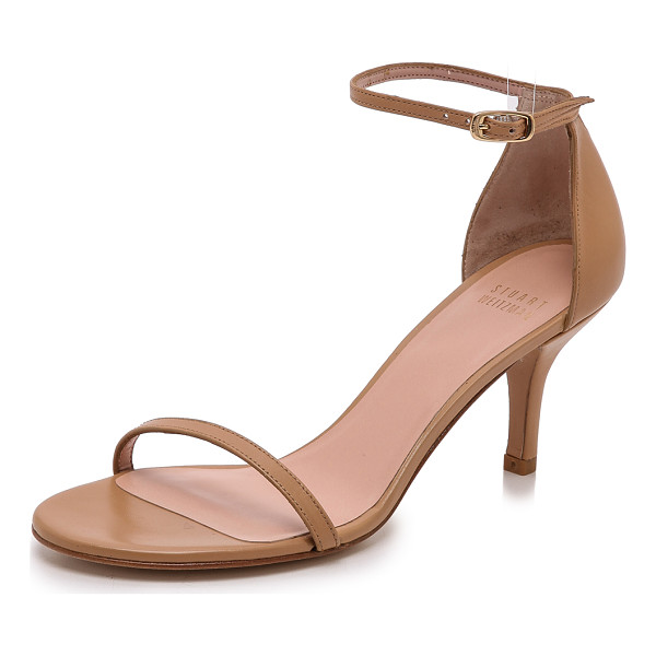 STUART WEITZMAN naked 65mm sandals - Delicate Stuart Weitzman sandals composed of smooth