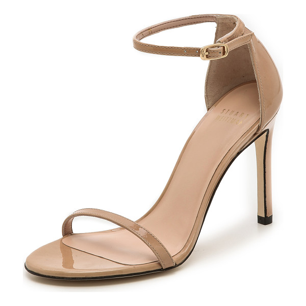 STUART WEITZMAN nudistsong 90mm sandals - Delicate Stuart Weitzman sandals composed of polished