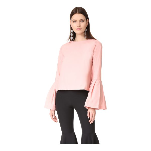 STYLE MAFIA flare sleeve blouse - This crisp, woven Style Mafia blouse is styled with...