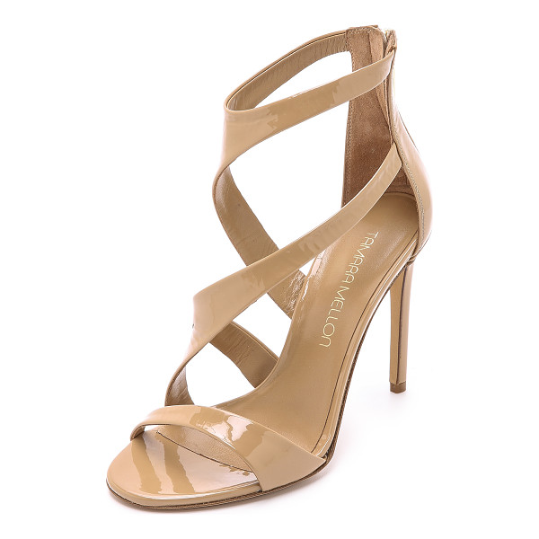 TAMARA MELLON Tiger sandals - Curved straps bring elegant asymmetry to these Tamara...