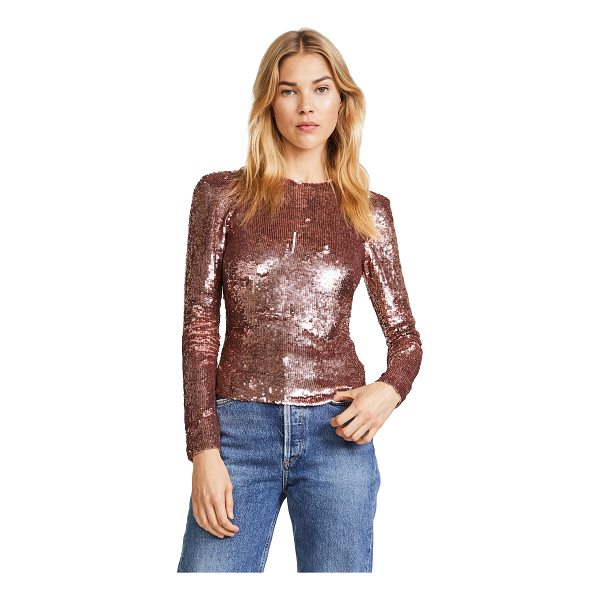 TEMPERLEY LONDON filigree top - This slim Temperley London top is covered in shimmering,...