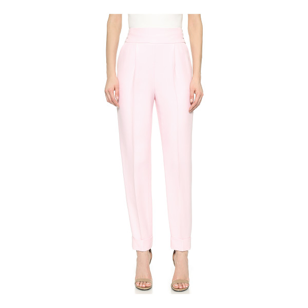 TEMPERLEY LONDON Oscar slim trousers - High waisted Temperley London trousers feel polished with a...