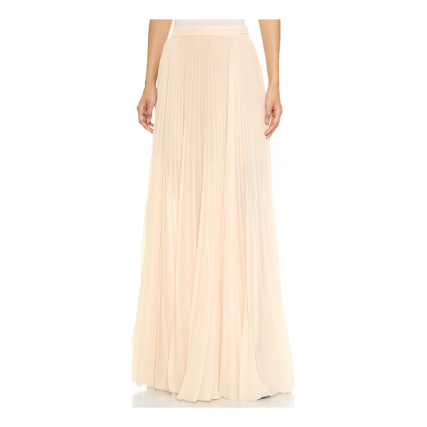 TESS GIBERSON Long pleated skirt - This elegant Tess Giberson skirt blends feminine allure...