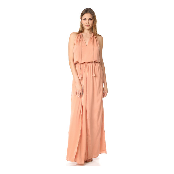 THE JETSET DIARIES omara maxi dress - NOTE: Runs true to size. A crossover skirt relaxes the fit...