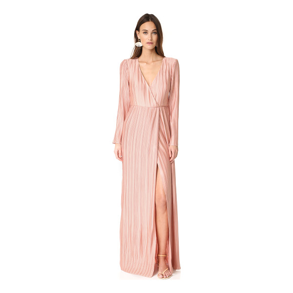 THE JETSET DIARIES primavera maxi dress - Pleats lend allover texture to this full-length The Jetset...