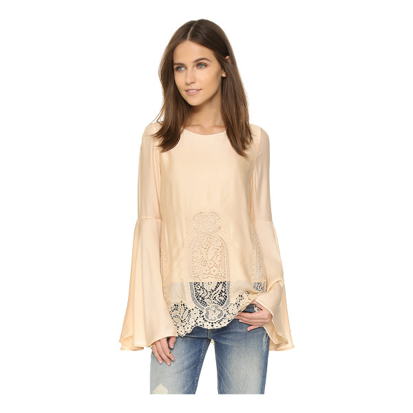 THE JETSET DIARIES Verona blouse - This slouchy The Jetset Diaries blouse gains a romantic...
