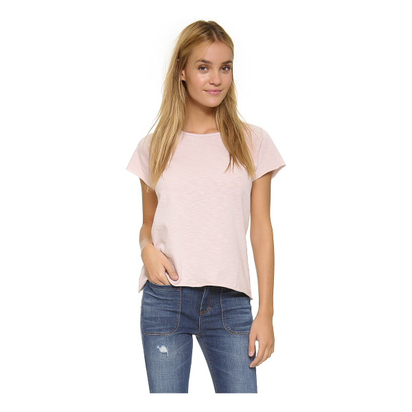 THE LADY & THE SAILOR Raglan tee - Raw edges accentuate the casual look of this relaxed The...