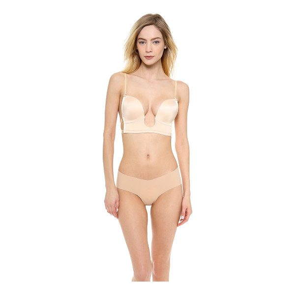 THE NATURAL plunge bra - This plunging, wireless The Natural bra is designed for a...