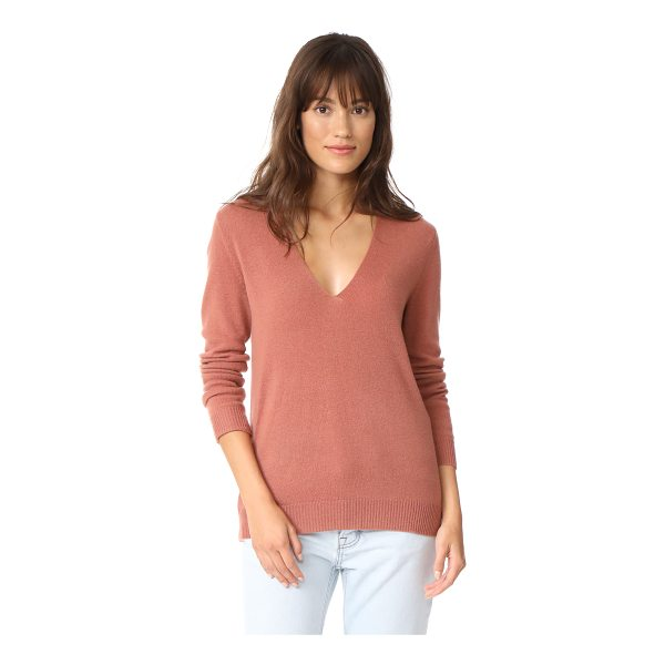 THEORY adrianna cashmere sweater - This loose, lightweight Theory sweater is styled with a...
