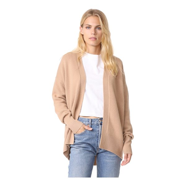 THEORY oversized cashmere cardigan - This effortless cashmere Theory cardigan has an open...