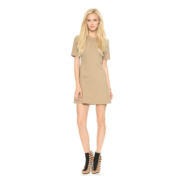 THEORY Palatial danaline dress - A flattering fit and flare silhouette lends timeless charm...