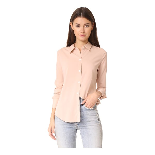 THEORY perfect fitted shirt - An understated Theory button-down shirt in lightweight...