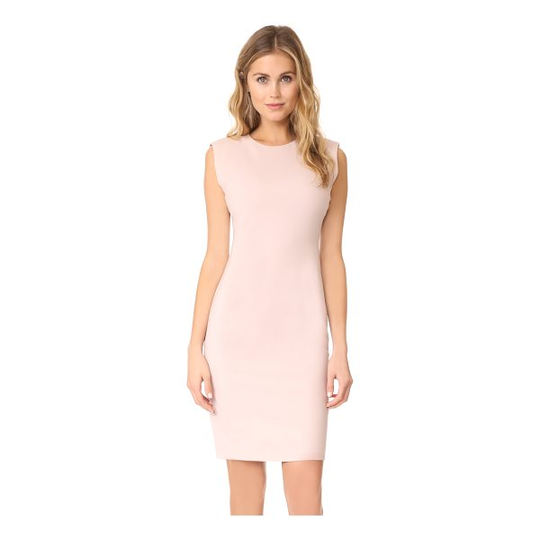THEORY power dress - A sophisticated Theory sheath dress with raised seams along...