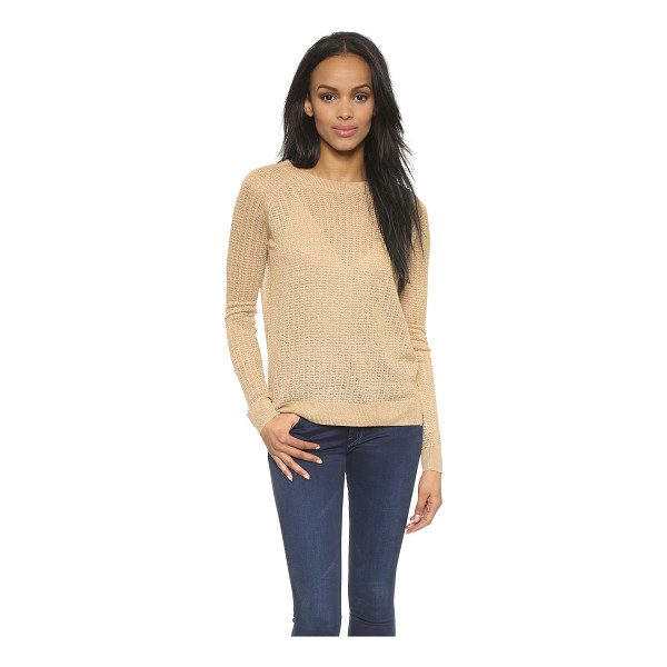 THEORY Sag harbor innis w sweater - A slinky Theory sweater with a lightweight, loose knit...