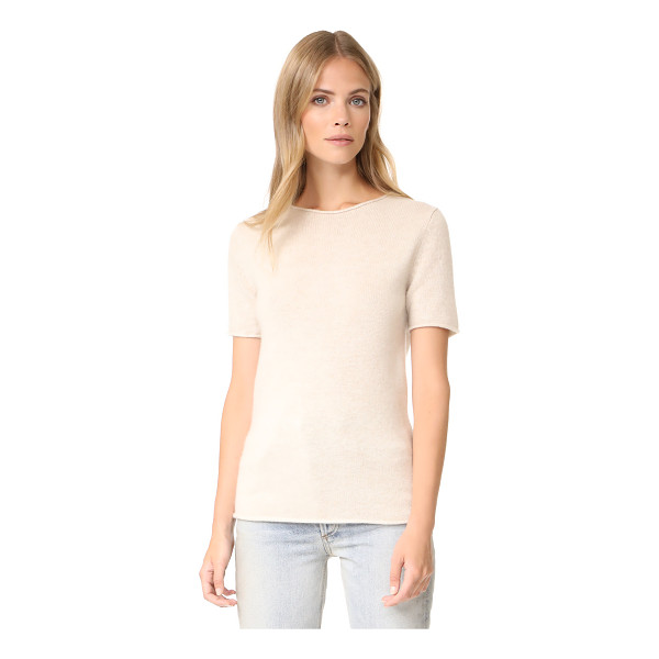 THEORY tolleree top - Luxurious cashmere brings a soft touch to this...