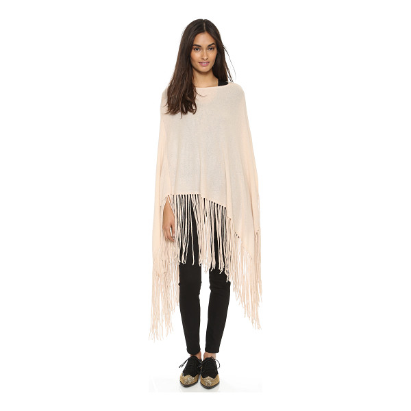 THEPERFEXT Joan cashmere cape - A cozy ThePerfext poncho made from sumptuous cashmere. Long...