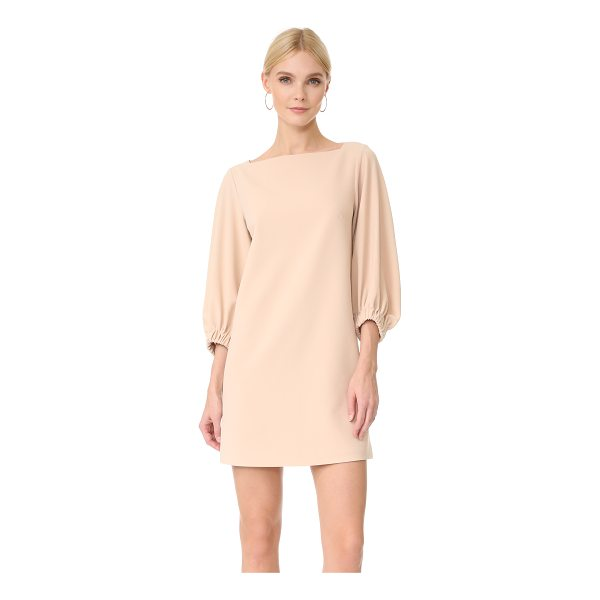 TIBI crepe boat neck dress - This ladylike Tibi dress is crafted in a classic shift...