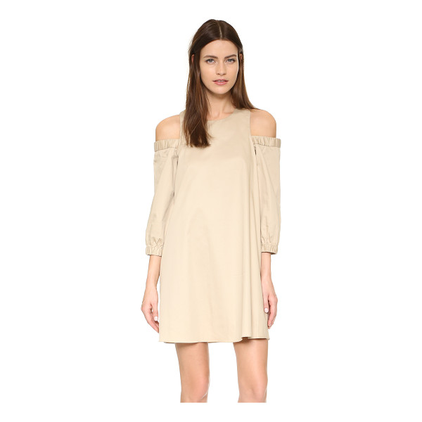 TIBI Cutout shoulder dress - Exclusive to Shopbop. A loose Tibi dress in a flirty, off...