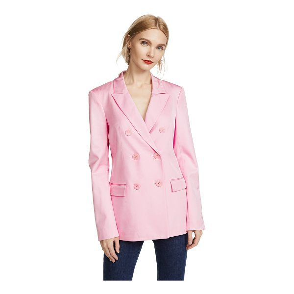 TIBI steward blazer - Fabric: Suiting Double-breasted placket Blazer style...