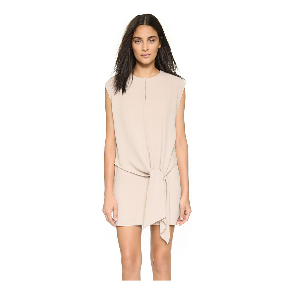 TIBI Tie dress - This Tibi shift dress is detailed with an airy, draped...