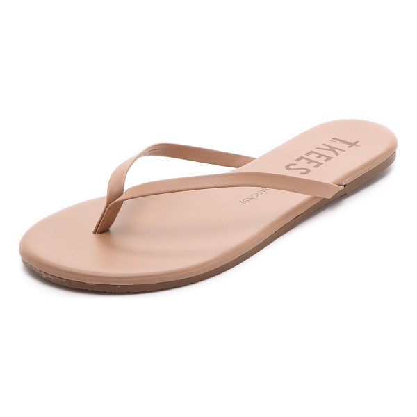 TKEES foundations flip flops - A makeup palette for the feet, these TKEES flip-flops...