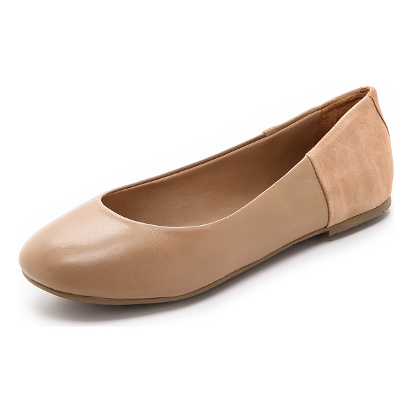 TKEES Tkees - Simple TKEES ballet flats constructed in a luxe mix of