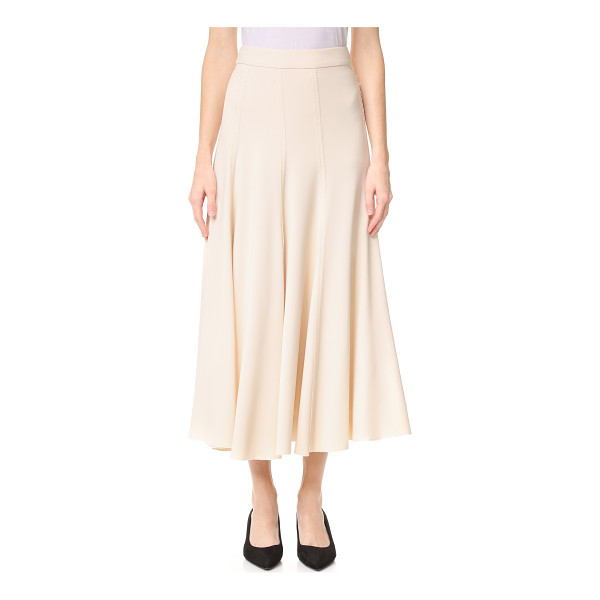 TOME a line skirt - An A line Tome skirt in a ladylike midi length. Tonal...