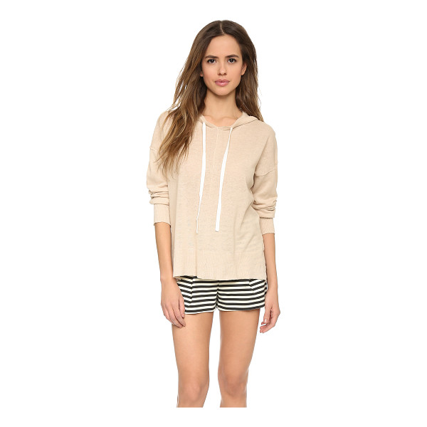 TOP SECRET Horizon hoodie - Inside out seams bring a deconstructed look to this Top...