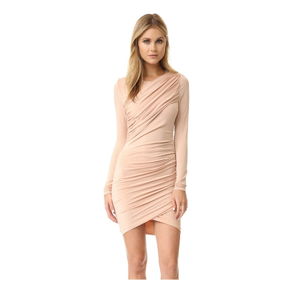 TORN BY RONNY KOBO Ferguson dress - Draping brings elegant asymmetry to this formfitting Torn...