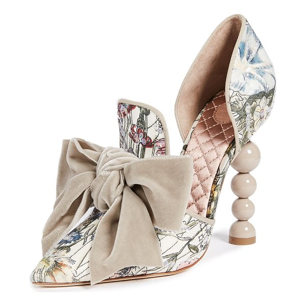 TORY BURCH clara 110mm pumps - Iridescent sequins add a glittering, eye-catching touch to...