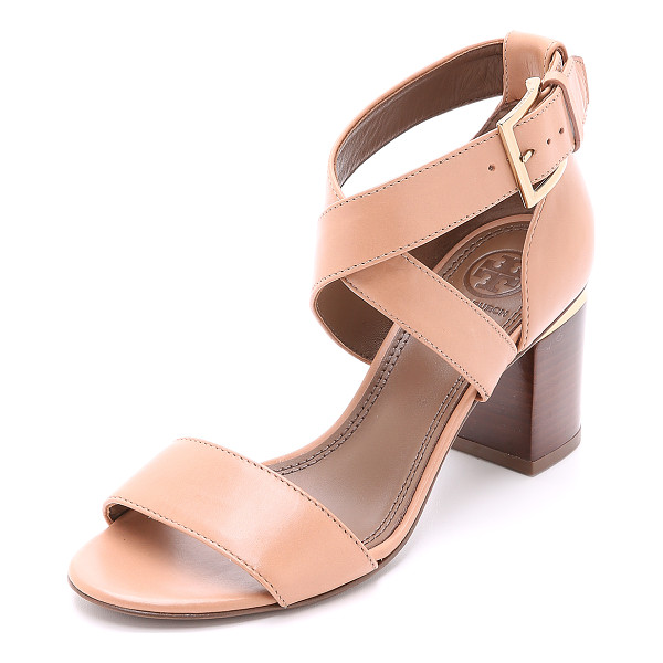 TORY BURCH Jones sandals - Versatile Tory Burch sandals with polished metal banding