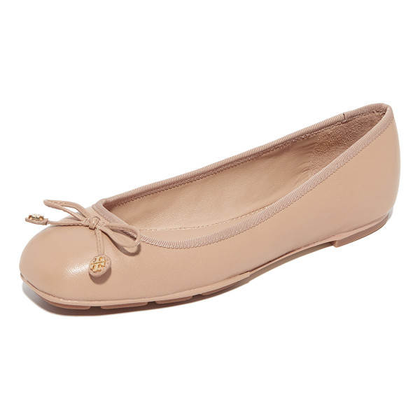 TORY BURCH laila driver ballet flats - Classic Tory Burch ballet flats in supple leather. A