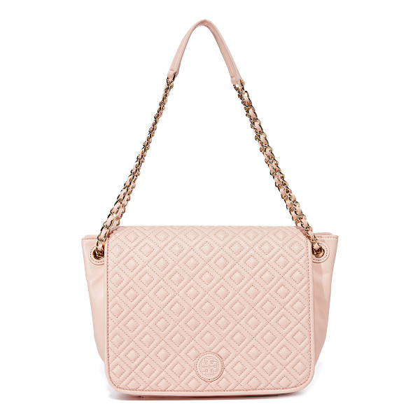 TORY BURCH marion quilted shoulder bag - A sophisticated Tory Burch shoulder bag in supple quilted...