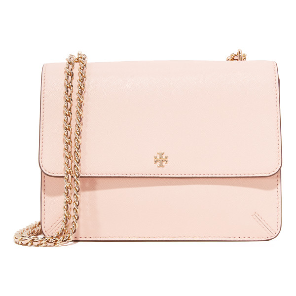 TORY BURCH robinson convertible shoulder bag - A sophisticated Tory Burch shoulder bag crafted in classic